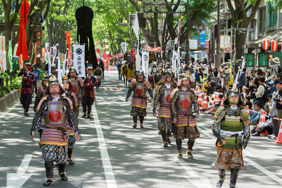 【 2日間、伊達づくし!】2017年の仙台・青葉まつりは「伊達政宗公生誕450年祭」