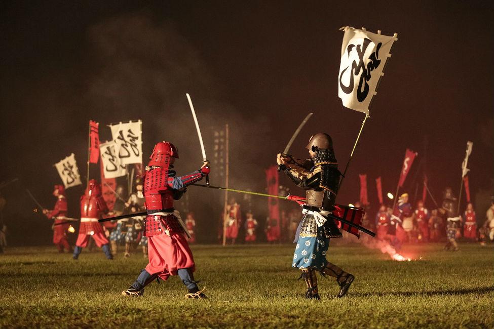 【 蘇る川中島合戦 】上杉謙信公ゆかりの地・上越市で開催『謙信公祭』
